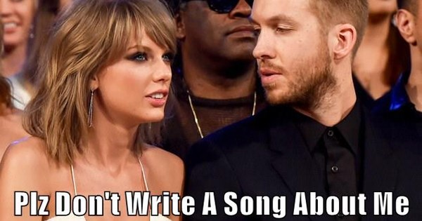 taylor swift,twitter,calvin harris,list,breakup,dating