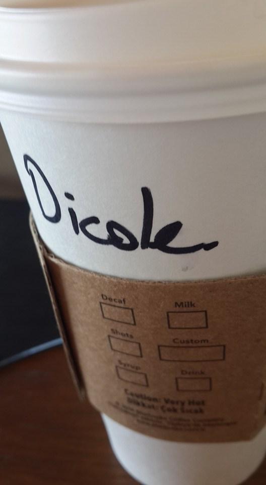 FAIL,Starbucks,spelling,name