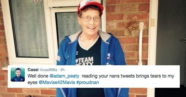 Olympics 2016,twitter,grandma,swimming,olympics