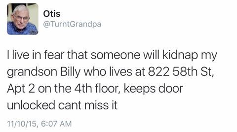 dammit grandpa