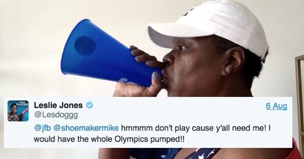 leslie jones,twitter,list,2016 olympics,olympics